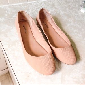 Cute beige flats - BUNDLE & SAVE